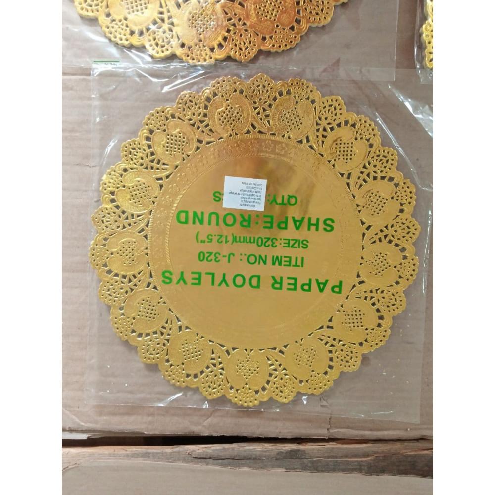 Бумага под выпечку золотая 320мм