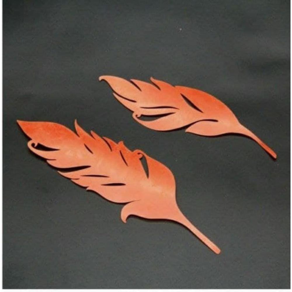 Трафарет осенние листья 2шт