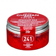 Краситель красный мак жирорастворимый 20гр (GUZMAN)
