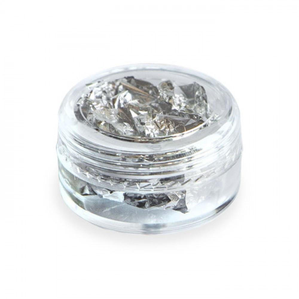Пищевое серебро в хлопьях 3гр