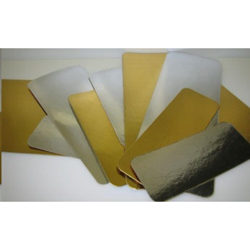 Подложка ламинированная золотая/серебряная 80х240 (10шт)