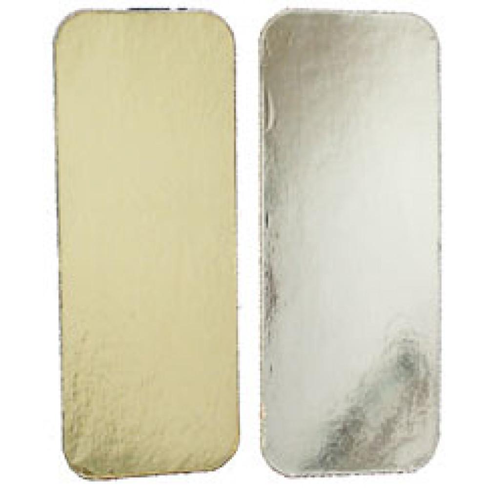 Подложка ламинированная золотая/серебряная 130х370 (10шт)