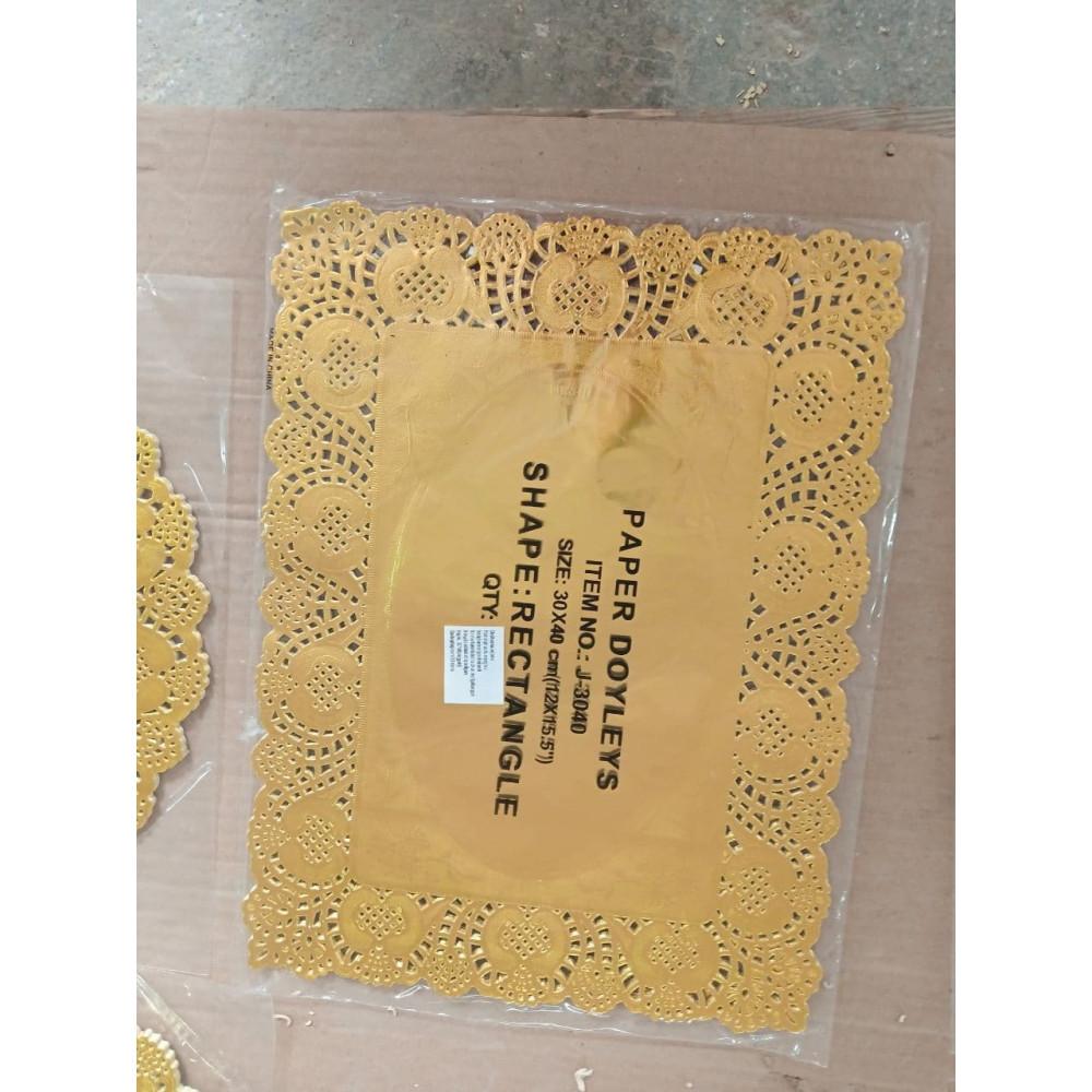 Бумага для выпечки Золотая 30х40 прям.Угол