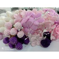Ягоды и Цветочки из мастики