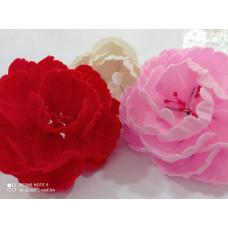 Пионы из мастики (белые, розовые ,красные)