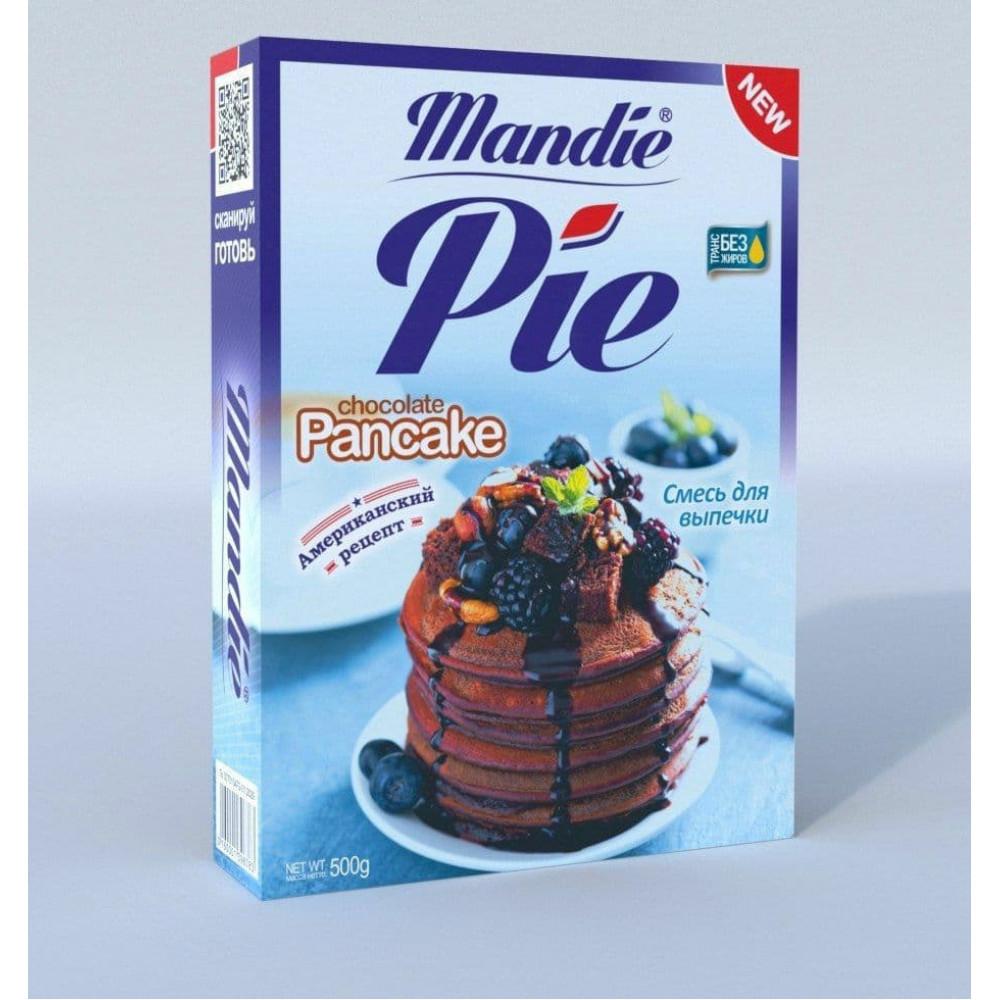"Смесь для выпечки ""Mandie Pie Chocolate Pancake"" 500 гр"