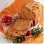 Калифорнийский чесночный хлеб с сушеными томатами