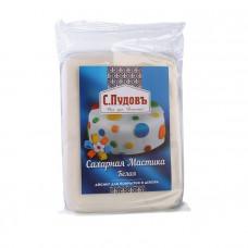 Сахарная мастика(айсинг) для лепки и декора белая С.Пудовъ, 500 г