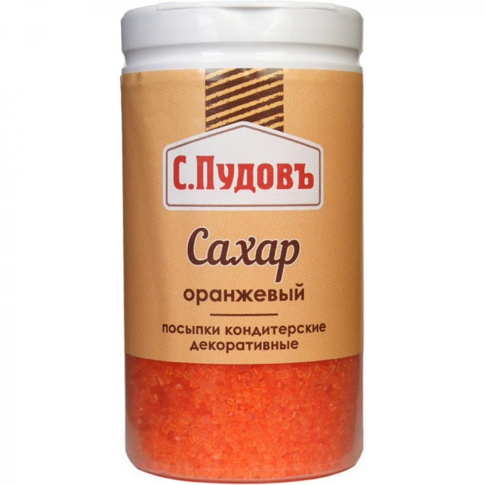 Посыпка Сахар оранжевый С.Пудовъ, 65 г
