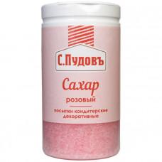 Посыпка Сахар розовый С.Пудовъ, 65 г