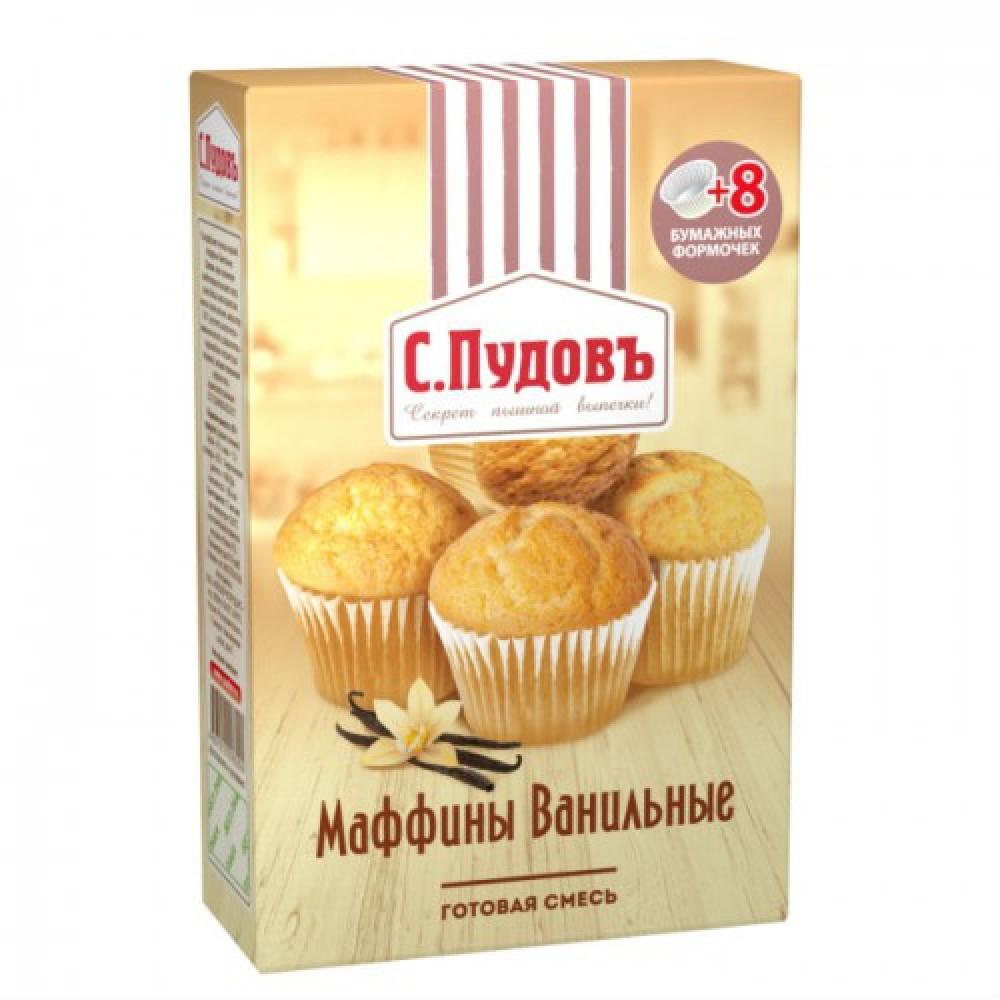 Мучная смесь «Маффины ванильные» С.Пудовъ, 250 г