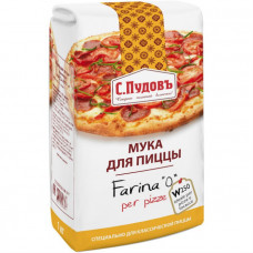 Мука для пиццы С.Пудовъ, 1 кг