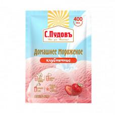 Мороженое Домашнее Клубничное С.Пудовъ, 70 г