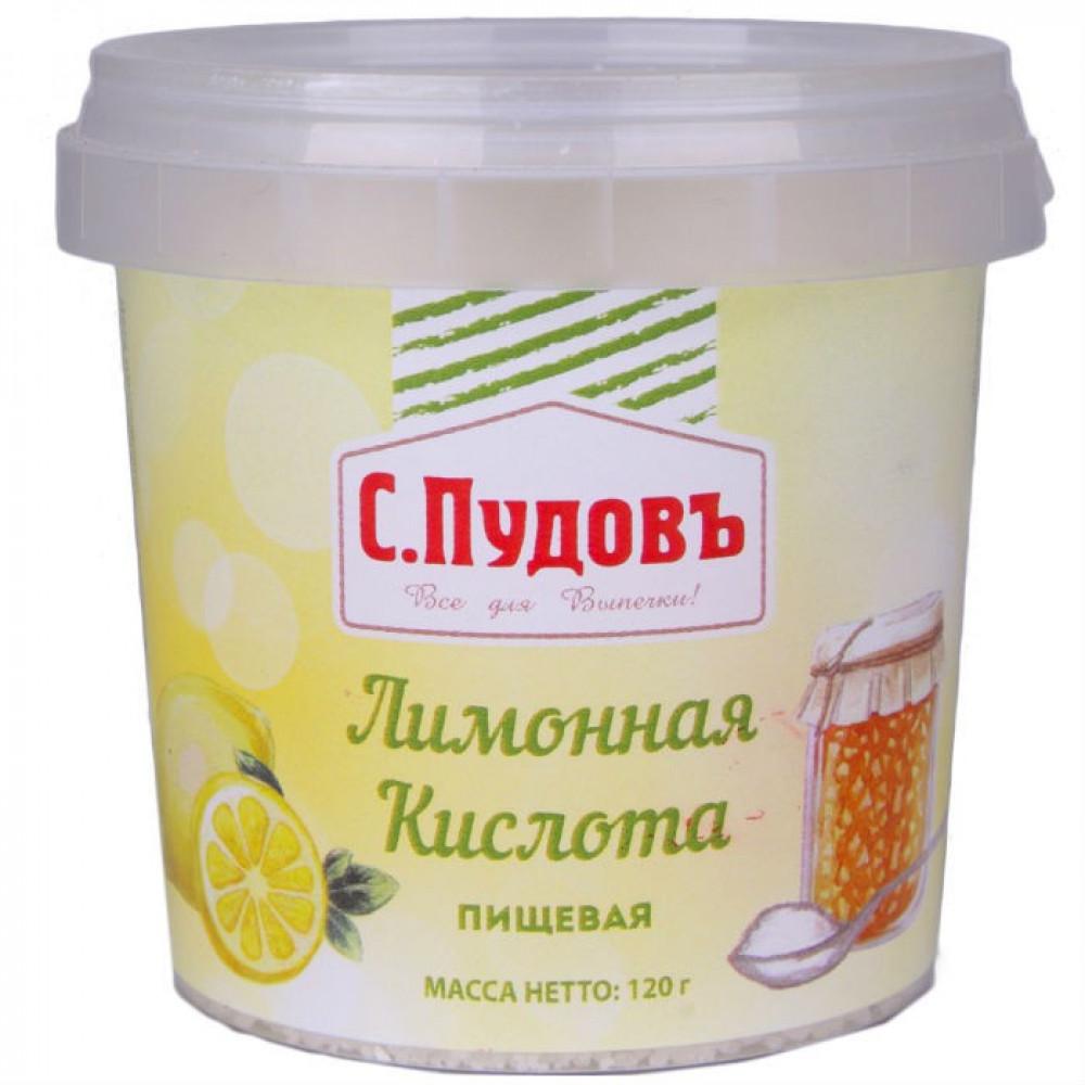 Лимонная кислота С.Пудовъ, 120 г