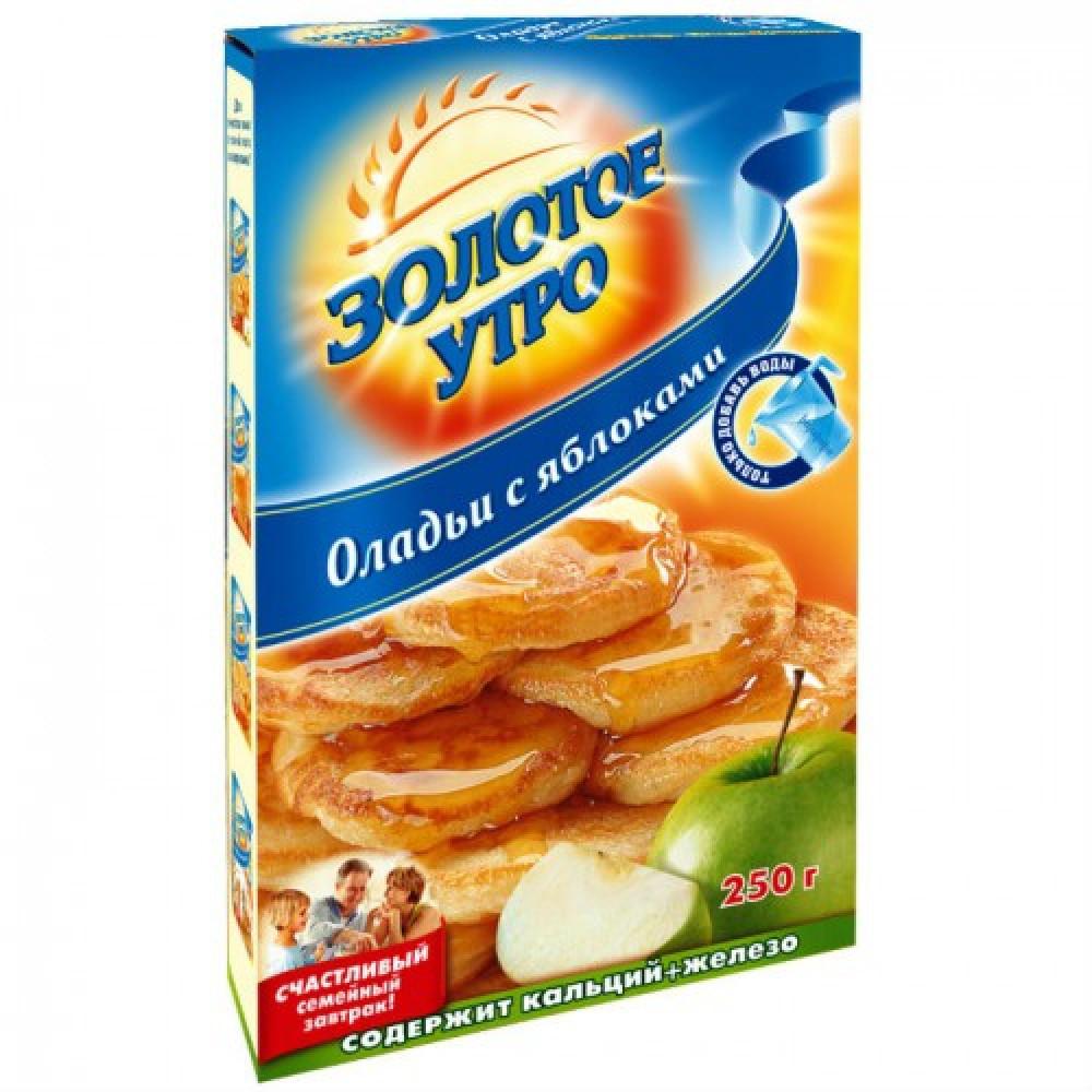 Мучная смесь «Оладьи с яблоками» Золотое утро, 250 г