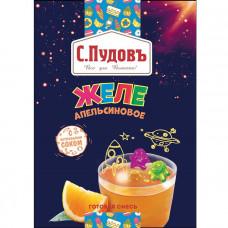 Желе апельсиновое с натуральным соком,С.Пудовъ, 45 г