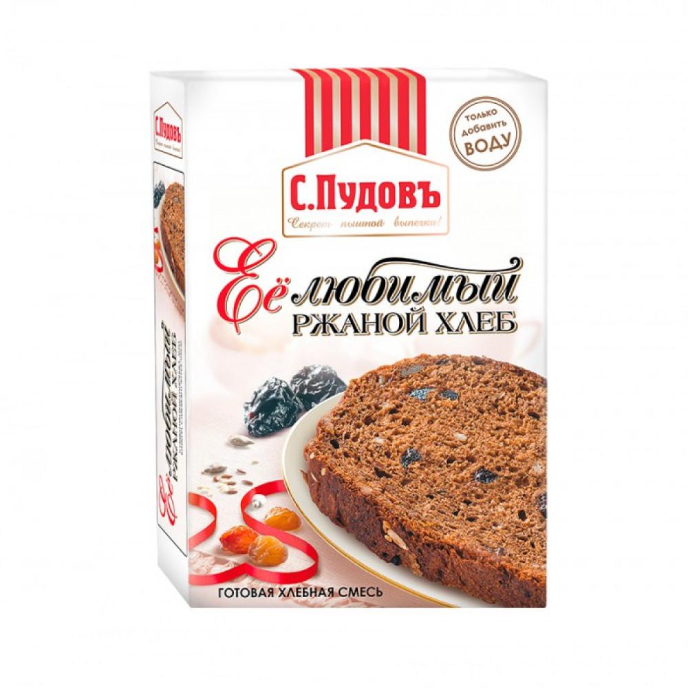 Хлебная смесь «Ее любимый ржаной хлеб», С.Пудовъ