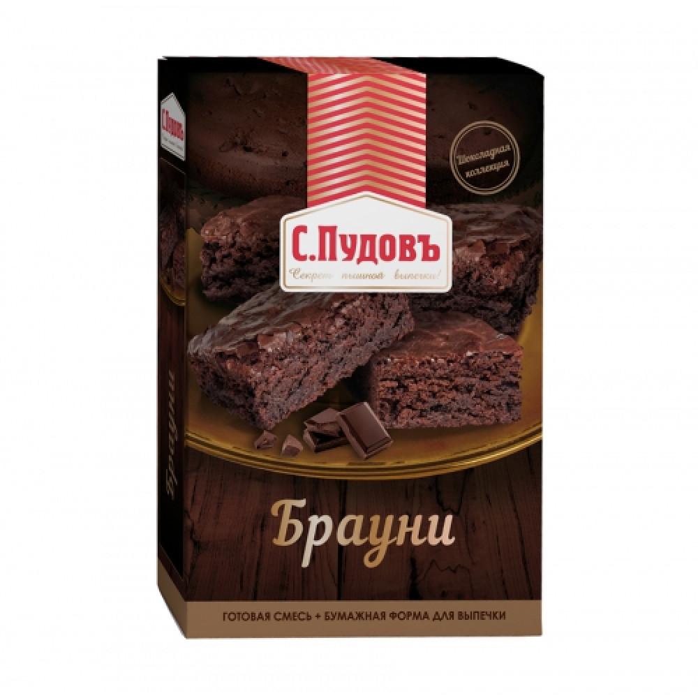 Мучная смесь «Брауни» С.Пудовъ, 350 г